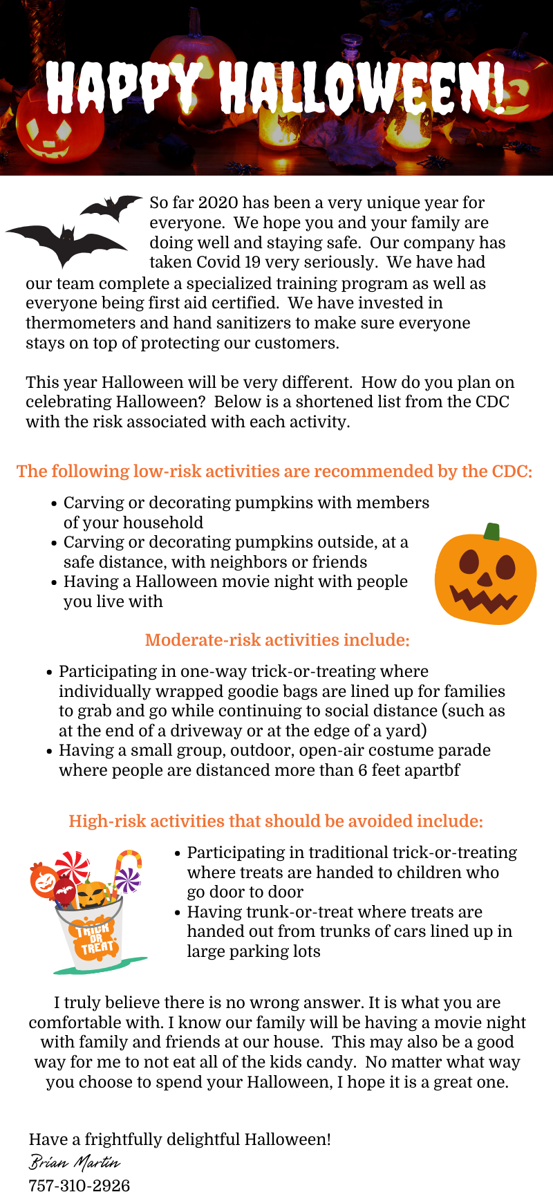 Stay Safe This Halloween! 3