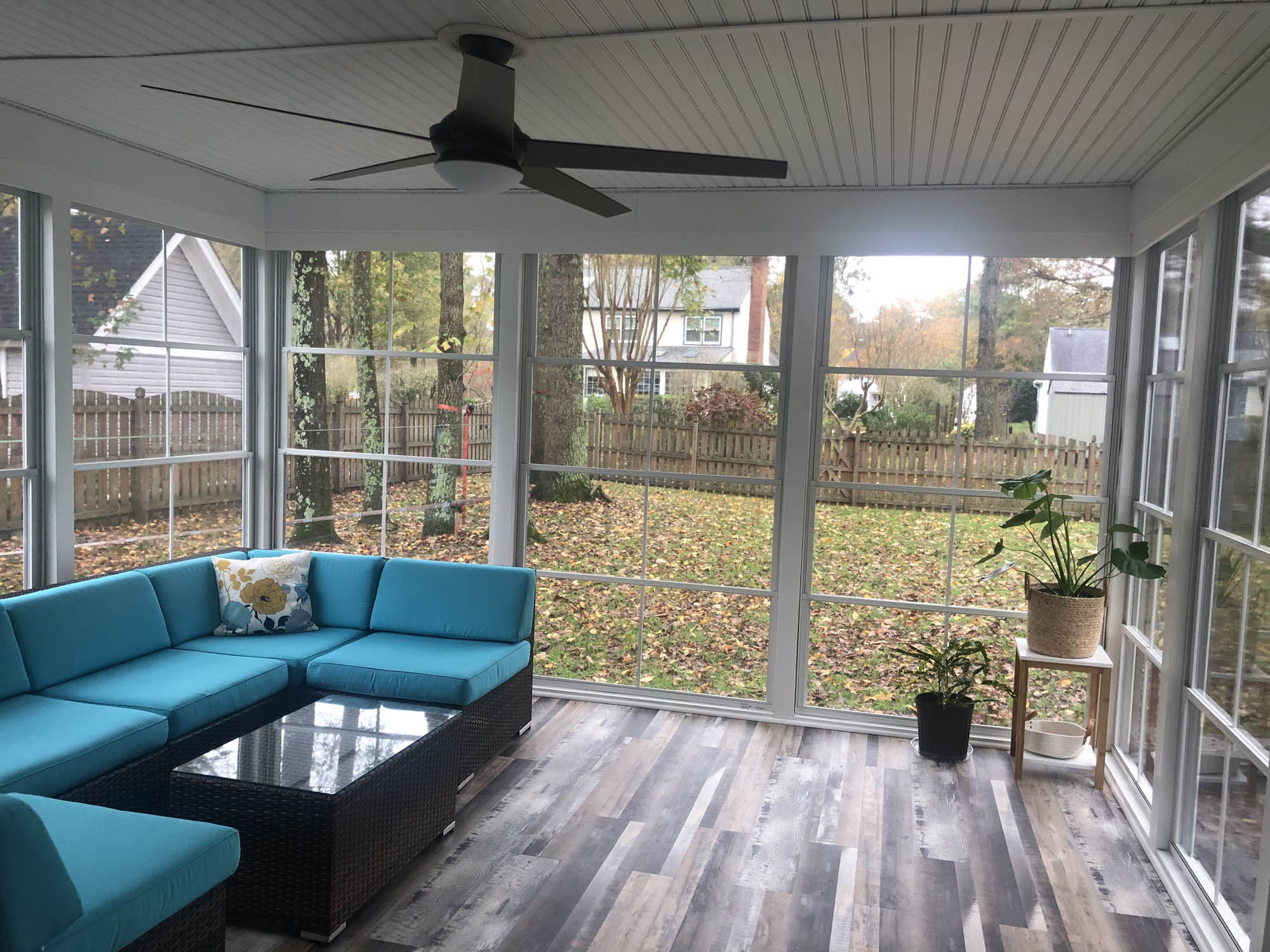 enclosed patio house addition